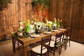 Collection In Garden Table Decor Rustic Dinner Party Decoration Unique Settings 1 Spring