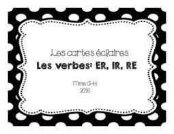 si er conjugaison les verbes er teaching resources teachers pay teachers