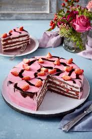 schoko erdbeer torte
