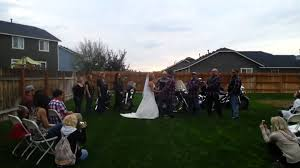 Awesome Biker Wedding - YouTube Photo Gallery Victory Biker Church Intl Backyard Gardening Jodie Richelle 204 Best Bikes And Bikers Images On Pinterest Custom Motorcycles Pension Pstru We Welcome Allpets Students Families Vrbo The Worlds Best Photos Of Bikers Bonfire Flickr Hive Mind A Group Three Mountain Reportedly Saw A Reptilian Ride For Brooke Healey Succeed News Tapinto 10 Steps To Creating Backyard Skate Park Howstuffworks Biking Hairy Brads Playground Lus_alcalde