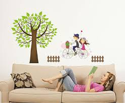 Tree Wall Decor Ideas by Wall Decal Willow Tree Wall Decal Ideas Cherry Blossom Wall Decal