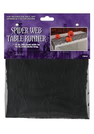 Halloween Mantel Scarf by Spider Web Table Runner