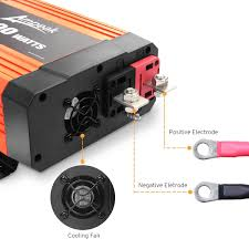 Ampeak 1000W Power Inverter 12V DC To 110V AC Truck/RV Inverter ... How To Install A Car Power Invter Youtube Autoexec Truck Super03 Desk W Power Invter And Cell Phone Mount Consumer Electronics Invters Find Offers Online Equipment Spotlight Provide Incab Electrical Loads What Is The Best For A Semi Why Its Wise Use An Generator For Your Food Out Pure Sine Wave 153000w 24v 240v Aus Plug Cheap 1000w Find Deals On Line At Alibacom Suppliers Top 10 2015 12v Review Dc To Ac 110v 1200w Car Charger Convter