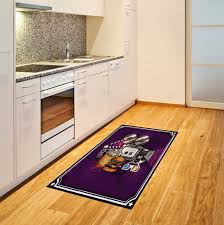 flachgewebe teppich marylou in lila gelb