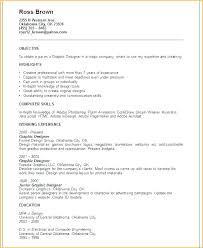 Sample Resume Graphic Designer Design Examples Feat For