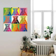 artland wandbild förderturm pop architektonische elemente 1 st in vielen größen produktarten leinwandbild poster wandaufkleber