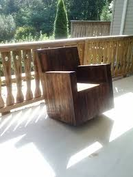 Pallet Rocking Chair My Husband Made