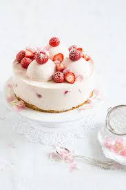 erdbeer mousse torte