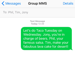 How to send group text messages on iPhone