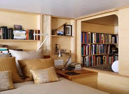 A Nook Creates Cubby Like Library To Crawl Into