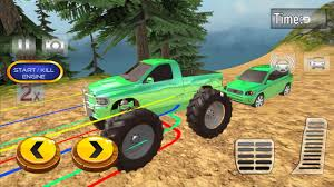 100 Monster Truck Simulator Pull Drive Car Race Android Game Play For