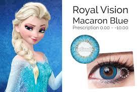Blue Prescription Halloween Contacts by Make Frozen U0027s Elsa U0027s Blue Eyes Your Own This Halloween U2013 Eyecandy U0027s