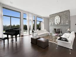 Best Dark Gray Wood Ing Living Room In The Hamptons With A Grand Piano