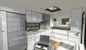 Modern Camper Interiors Custom Truck Rv Motorhome Living Or A Tiny House Interior Window Molding