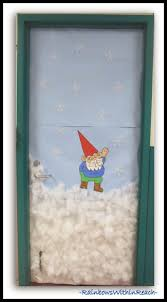 Winter Themed Classroom Door Decorations by 391 Best Gnomey Gnome Gnome Theme Images On Pinterest Gnomes