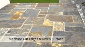 Patio Slabs by Nustone Rustic Copper Slate Paving Slabs Garden Patio Stone