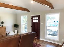 Below Is A View From The Dining Room Through Kitchen Into Original Garage