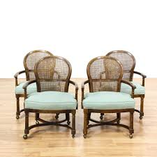This Set Of 4 Dining Chairs Are Featured In A Solid Wood ...