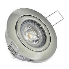 badezimmer led einbaurahmen bajo 230v ip20 power led strahler 5w dimmbar