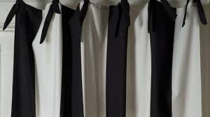 White And Gray Striped Curtains by Black And White Striped Curtains Youtube