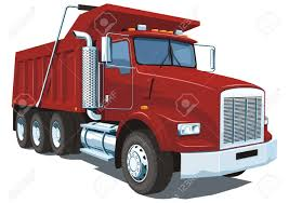 100 Red Dump Truck Vector Isolated Royalty Free Cliparts Vectors And