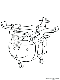 Super Wings Coloring Pages This Page Mira