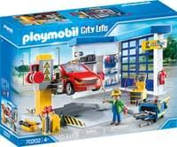 playmobil autowerkstatt city 70202
