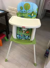 Fisher Price 4-in-1 High Chair, Babies & Kids, Baby & Kids ...