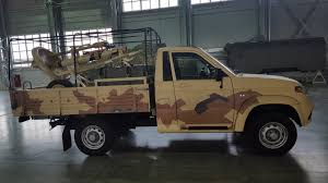 100 Patriot Truck Technical Pickup Gun Light Improvised Fighting Vehicle IFV
