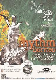 Rainforest World Music Festival Preview 2012