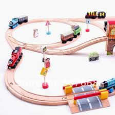 woodworking plan make wooden toy train track
