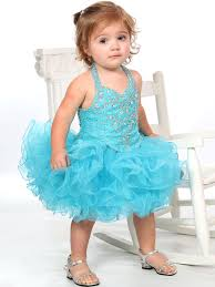 beaded bodice baby girls unique fashion pageant gown ufb026