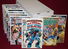 MARVEL COMICS Avengers Operation Galactic Storm 20 Issues VF NM 92