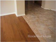 Flooring Transition Strips Wood To Tile by Tile To Tile Transition Using A Mosaic New Tile Is Florida Tile