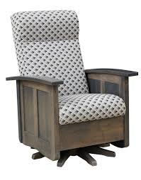 Shaker Swivel Glider - Hearthside Furniture