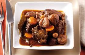 cuisine chataigne sauté de bœuf à la châtaigne recettes de cuisine la viande fr