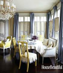 Dining Room Silk Curtains Decorating On A Budget Blog