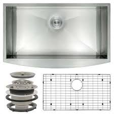 Ipt Stainless Steel Sinks by Akdy Farmhouse U0026 Apron Kitchen Sinks Kitchen Sinks The Home