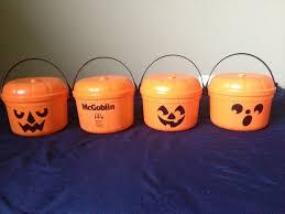 Mcdonalds Halloween Buckets by Halloween Happy Meals 80 U0027s Style Pics