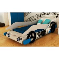 chambre voiture garcon lit voiture garçon un lit voiture chion avec système d éclairage led