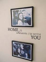 Interesting Couple Bedroom Wall Decor With Picture