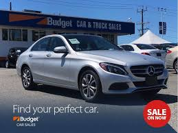 Used 2015 Mercedes-Benz C-Class Radar Assisted Parking, Low Kms, AWD ...