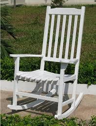 Amazon Merry Garden White Porch Rocker Rocking Chair