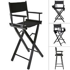 Professional Tall Folding Directors Chair by Make Up Chair Ebay