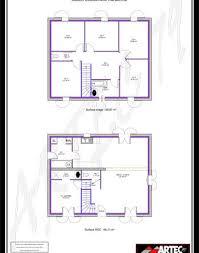 plan maison 4 chambres etage plan maison 100m2 4 chambres etage bricolage maison