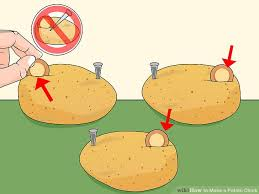 3 ways to make a potato clock wikihow