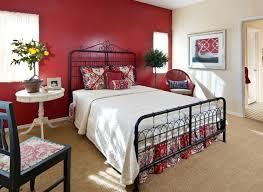 Black And Red Bedroom Ideas by How To Decorate A Bedroom With Red Walls