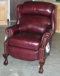 Bradington Young Leather Sofa Recliner by Still A Classic Ball And Claw Wing Back Leather Recliner By