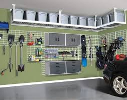 Cheap Garage Cabinets Diy decoration ceiling mounted garage storage racks garage tool