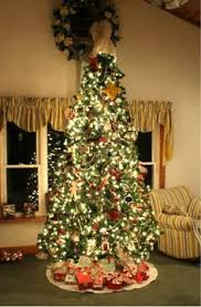Jersey Fraser Fir 9 Green Artificial Christmas Tree With 1500 Clear Lights And Stand